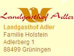 Landgasthof Adler, Riedlingen-Grueningen